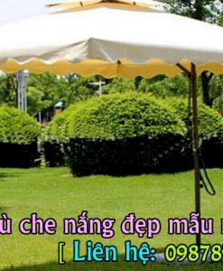 Dù Che Nắng Sân Vườn