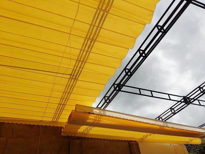 Công Ty Mái Hiên Hồng Hải Phát địa thi công báo giáLàm mái xếp phú nhuận tphcm mái che bạt xếp kéo di động giá rẻnăm 2019 tại Tphcm