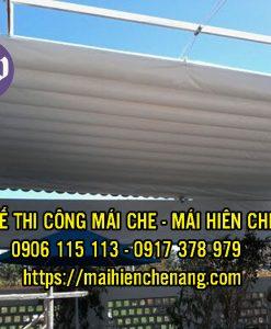chuyên sản xuất và lắp đặt Mái hiên di động - Mái che - Bạt cuốn kéo - Mái vòm thẩm mỹ - Mái tôn - Mái lấy sáng tại TP.HCM và các tỉnh lân cận.