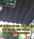 bạt che nắng mưa, thường dạng khổ lớn sử dụng dùng để che nắng che mưa nhà hàng, hội chợ, sân vườn, nhà giữ xe, các hội chợ ngoài trời.