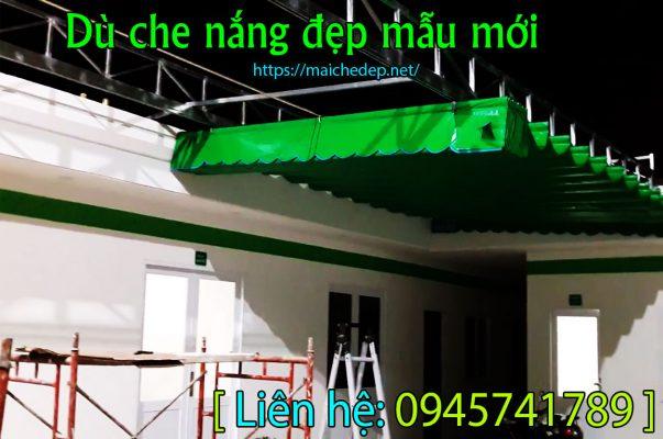 Sản phẩm Làm mái xếp mái hiên di động Bình Tân tphcm che nắng giá rẻ do Công Ty Mái Hiên Hồng Hải Phát.
