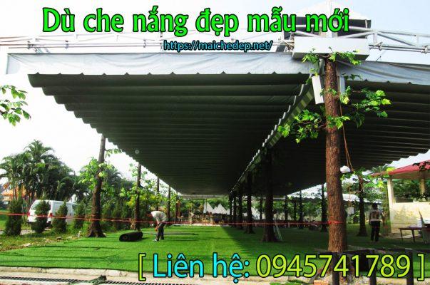 Làm mái xếp mái hiên di động gò vấp tphcm che nắng giá rẻmang lại không gian thoáng mát , dễ chịu cho người sử dụng .