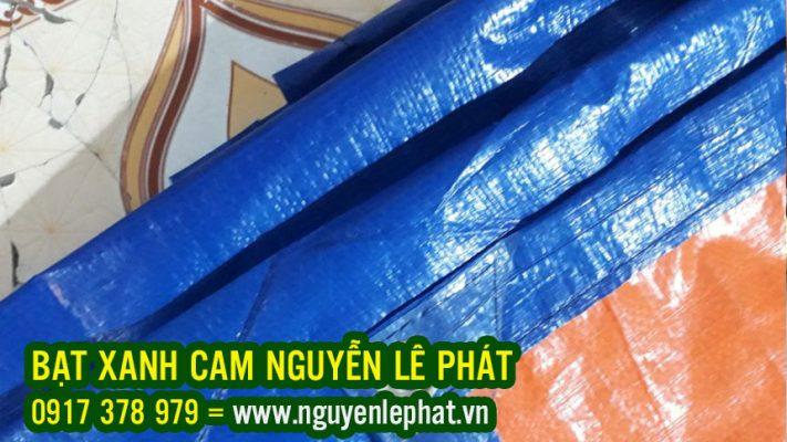 Cung Cấp Bạt Xanh Cam tại Bình Dương Giá Rẻ, Bạt Nhựa Xanh Cam Khổ 6M