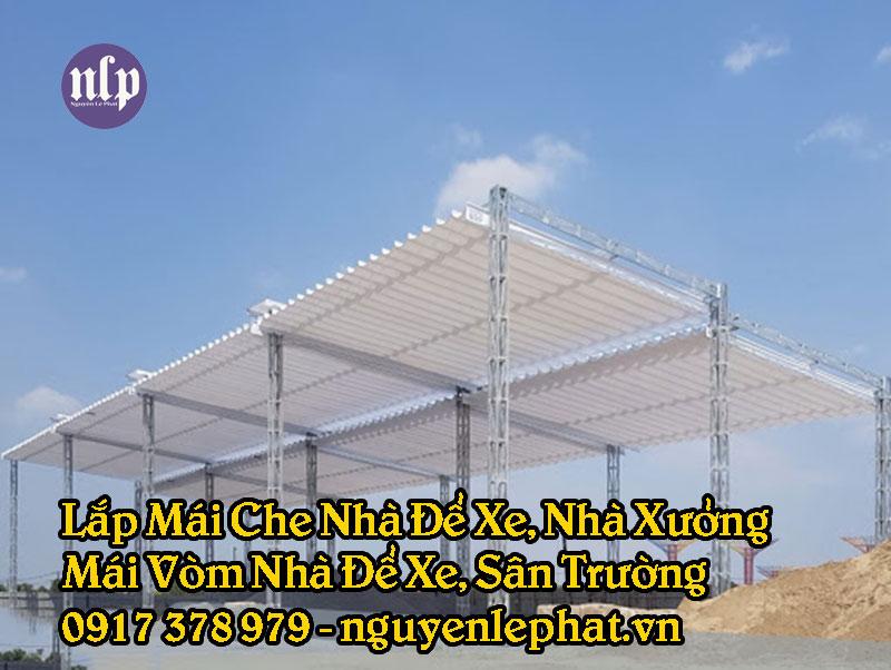 Mái che nhà xưởng, mái hiên nhà xưởng tại Tân Bình